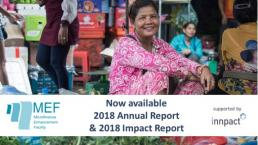 New reports: MEF Annual Report and Impact Report 2018 - supported by Innpact