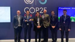 Innpact presents the Congo Basin Blue Fund initiative at the COP25 in Madrid.
